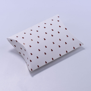 Custom Colorful Paperboard Pillow Box