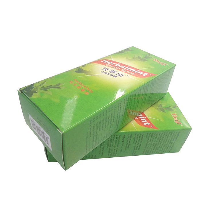 Cardboard Medicine Pill Storage Medicine Packaging Paper Box Design