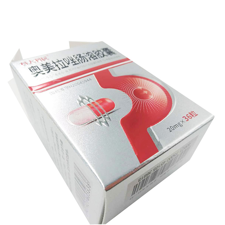 Promotion Household Medicine Carton Box New Design Pills Paper Box