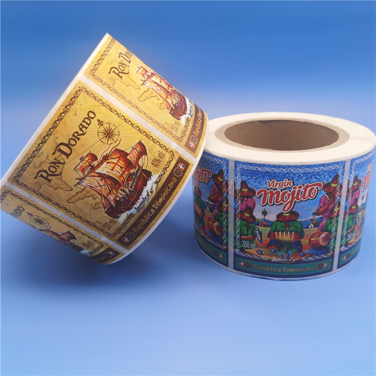 Waterproof Custom Size Sticker Label Printing For Food And Toy